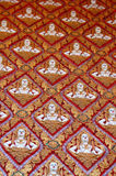 Modanatura tailandese tradizionale di arte Immagini Stock Libere da Diritti