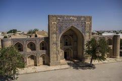 Modari-Хан Madrasah в комплексе Kosh-Madrasah Бухара, Узбекистан ashurbanipal стоковые изображения rf