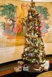 Modas para los árboles de hoja perenne en el  de Roanoke†del hotel del  del theâ€, 2016 Imágenes de archivo libres de regalías