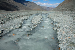 Modderig water Stock Foto's