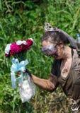 Modderige bruid Stock Fotografie