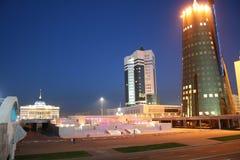 Moddern buildings. At Astana city Royalty Free Stock Image