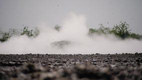 Moddervulkaan Bledug Kuwu, Indonesi? stock footage