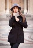 Mode élégante d'hiver Image libre de droits