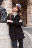Mode élégante d'hiver Photographie stock libre de droits