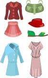 mode vektor illustrationer