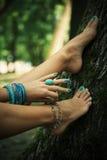 Mode aux pieds nus Image libre de droits