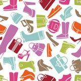 Mode beschuht Muster Lizenzfreies Stockfoto