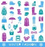 Mode d'hiver Photographie stock libre de droits