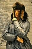 Mode d'hommes de l'hiver en Europe Photographie stock