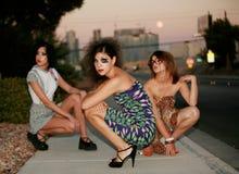 Mode dans la ville Image libre de droits