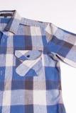 Mode de chemise du contrôle des hommes Photos stock