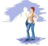 Mode de femme Images stock