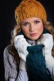 Mode de l'hiver Image libre de droits