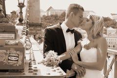 Mode de mariage Photo stock