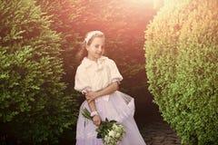 Mode de mariage, salon de beauté Mode, Cendrillon, princesse photographie stock
