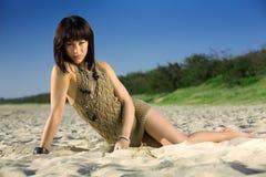 Mode de plage photo stock