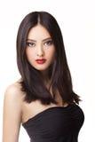 Mode de studio tirée de la femme asiatique Photos stock