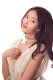 Mode de studio tirée de la femme asiatique Image libre de droits