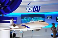 Mode de système aéroporté de renseignement sur les transmissions d'IAI Image libre de droits