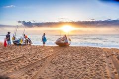 Mode de vie de lever de soleil Images stock