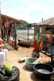 Mode de vie gitan de village de mer Photo libre de droits