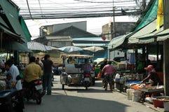 Mode de vie sur le marché de produits frais Photo libre de droits