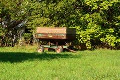 Mode de vie/tracteur de effacement de grain Image libre de droits