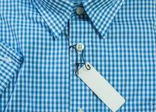 Mode des chemises des hommes Photo stock
