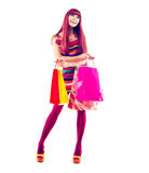 Mode-Einkaufsmädchen Lizenzfreie Stockfotos