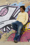 Mode et type urbain photo libre de droits
