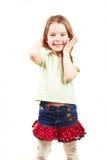 mode för 2 barn Arkivfoto