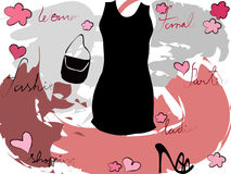 Mode femelle illustration de vecteur