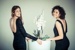 Mode-Frauen-Porträt stockfoto