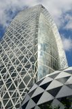 Mode Gakuen Cocoon Tower. The Mode Gakuen Cocoon Tower was awarded the 2008 Skyscraper of the Year by Emporis. the building's design was chosen by competition Stock Image