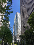 Mode Gakuen Cocoon Tower in Tokyo Royalty Free Stock Images