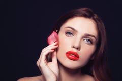 Mode, Gesundheit, Schönheit und Badekurortkonzept - Schönheit mit r Stockbilder