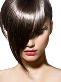 Mode-Haarschnitt Lizenzfreie Stockfotografie