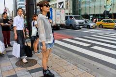 Mode japonaise de rue à Tokyo Photo stock