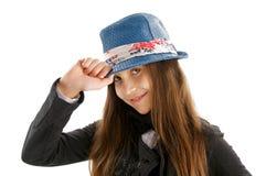 Mode-Mädchen Lizenzfreies Stockbild