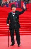 Mode mer modellier Vyacheslav Zaitsev på Moskvafilmfestivalen Royaltyfri Foto