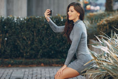 Mode-Obdachlosen Lizenzfreie Stockfotos
