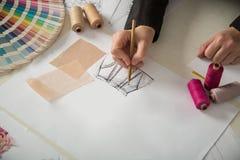 Mode ou concepteurs de tailleur photo libre de droits