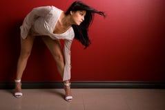 mode poserar Fotografering för Bildbyråer