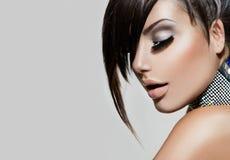 Mode-Schönheits-Mädchen lizenzfreies stockfoto