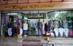 Mode shoppar i Bangkok, Thailand Arkivbild