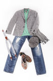 Mode suchen einen jungen Mann Lizenzfreies Stockbild