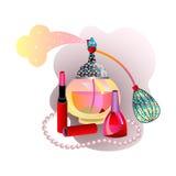 Mode und Schönheit Lizenzfreie Stockbilder
