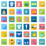 Mode-und Verkaufs-Ikone Lizenzfreie Stockfotos