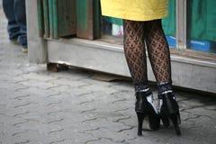 Mode urbaine à Urumqi. La Chine Image stock